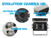 Evolution camera de recul HD